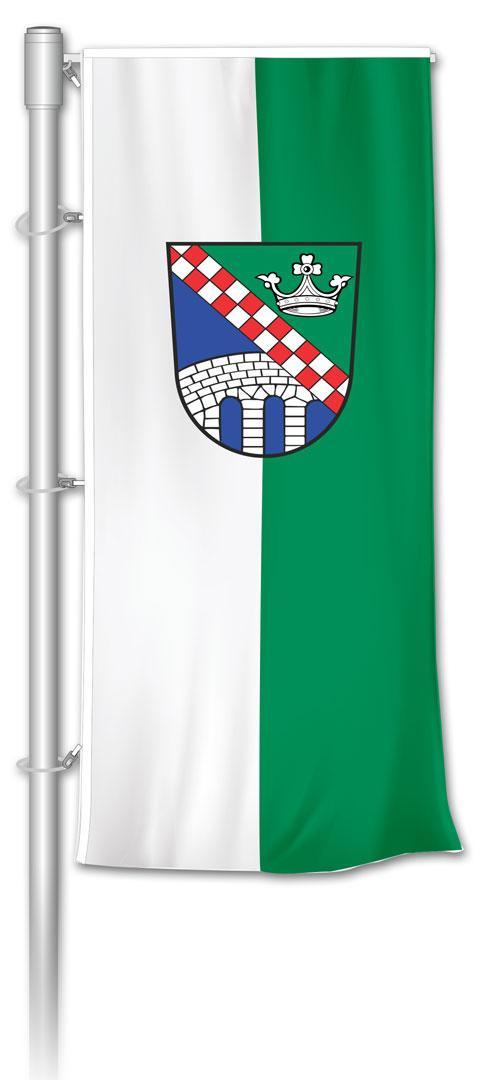 Auslegerfahne-Gemeindefahne