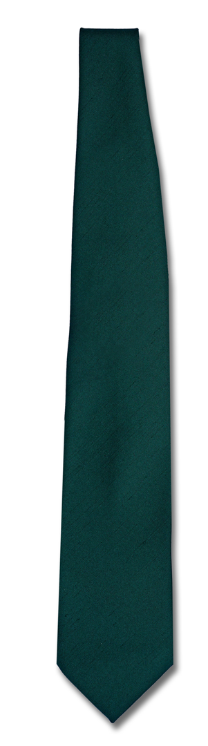 Krawatte dunkelgrün Polyester/Shantung