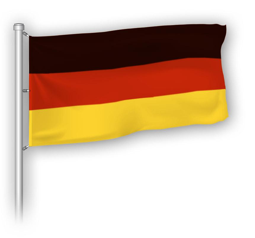 Flagge - Deutschland - BRD