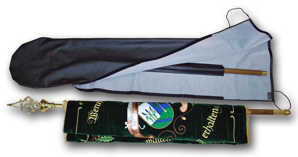 Fahnensack Premium mit Futteral