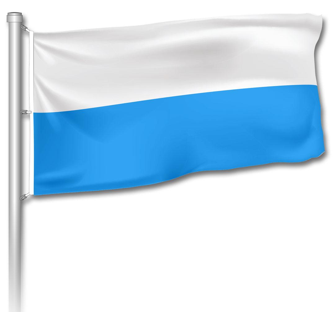 Flagge - Bayern Weiß-Blau