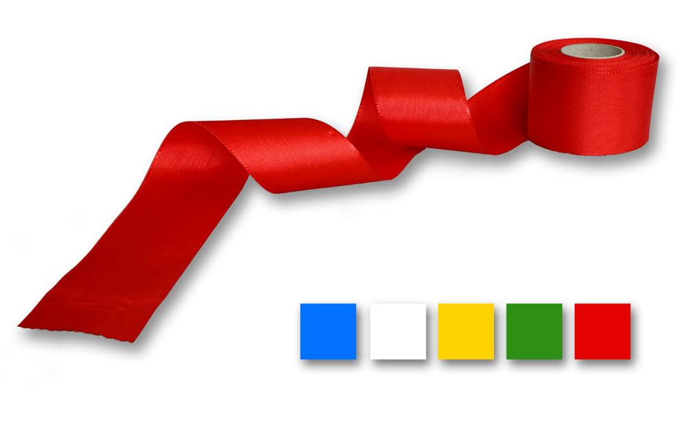 Ripsband rot, auch in anderen Farben erhältlich