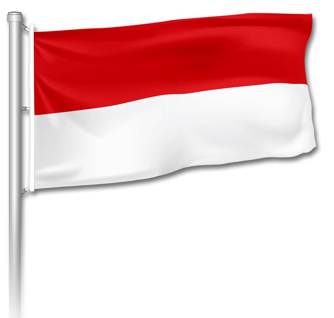 Flagge - Rot-Weiß