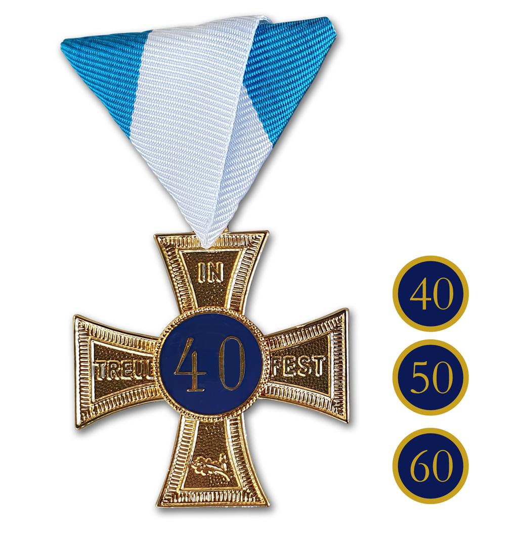 "Ehrenkreuz ""In Treue fest"" Gold"