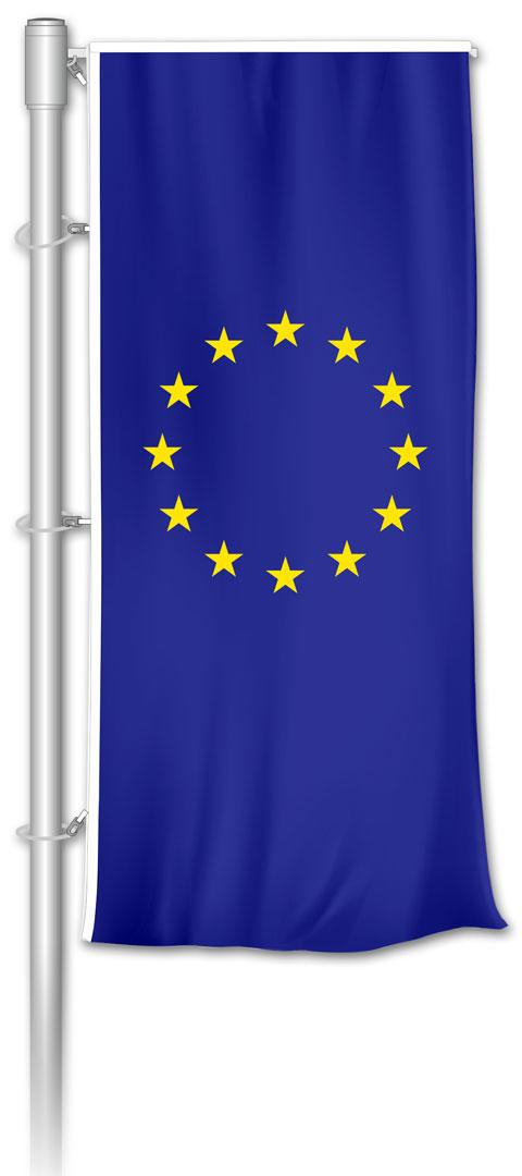 Auslegerfahne - Europa