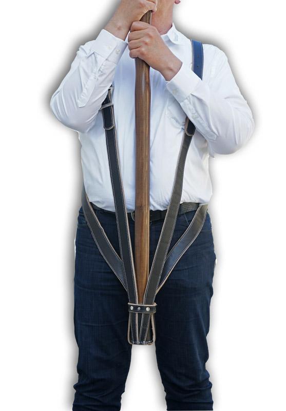 Kreuztragegurt für Vereinsfahnen, ca. 110cm
