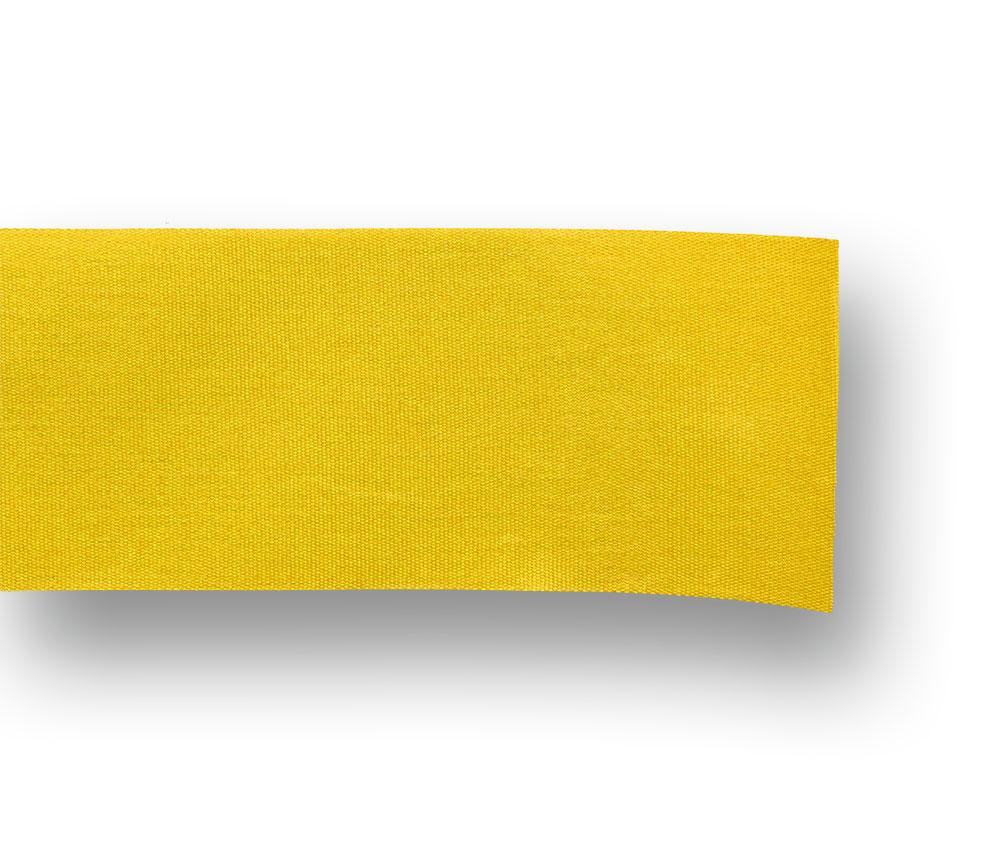 gelbes Dekoband aus Moire
