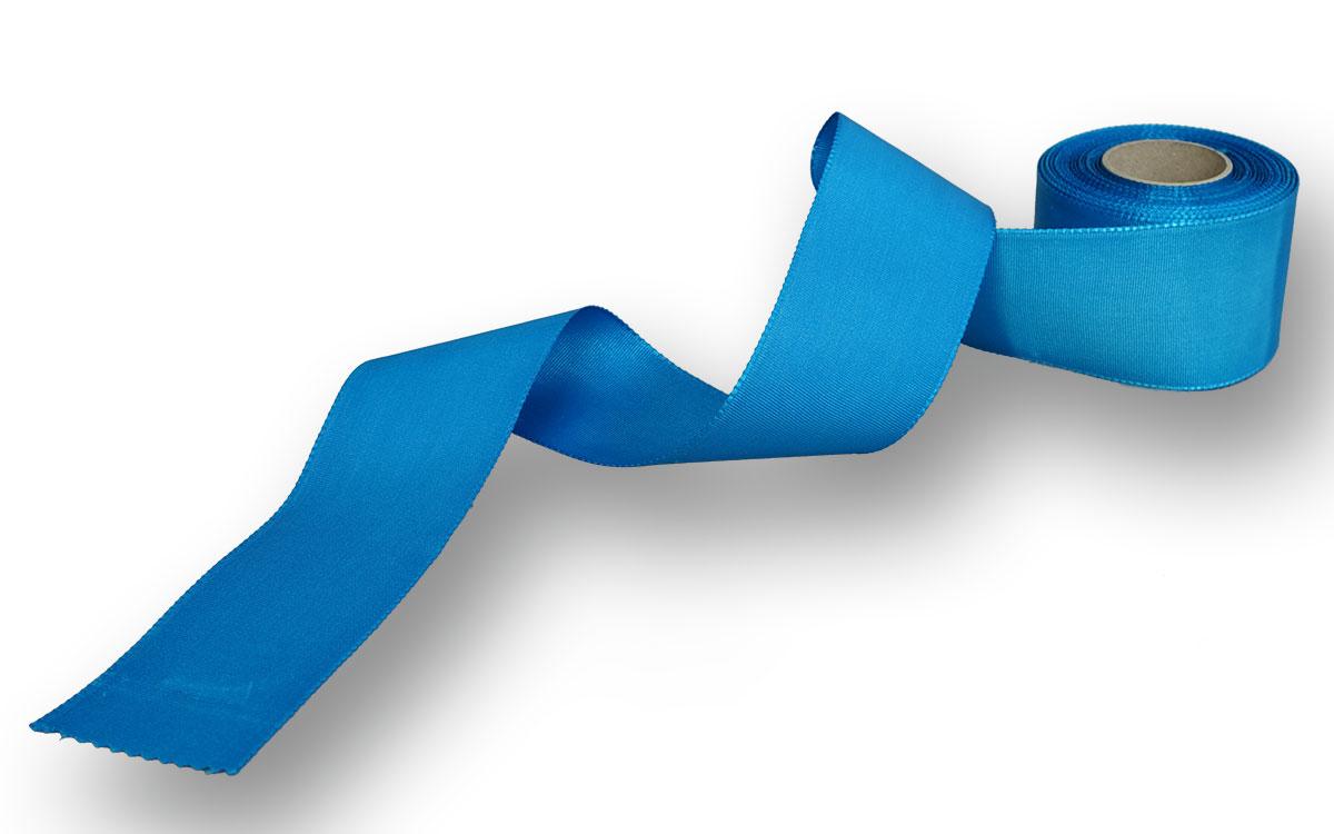 blaues Ripsband