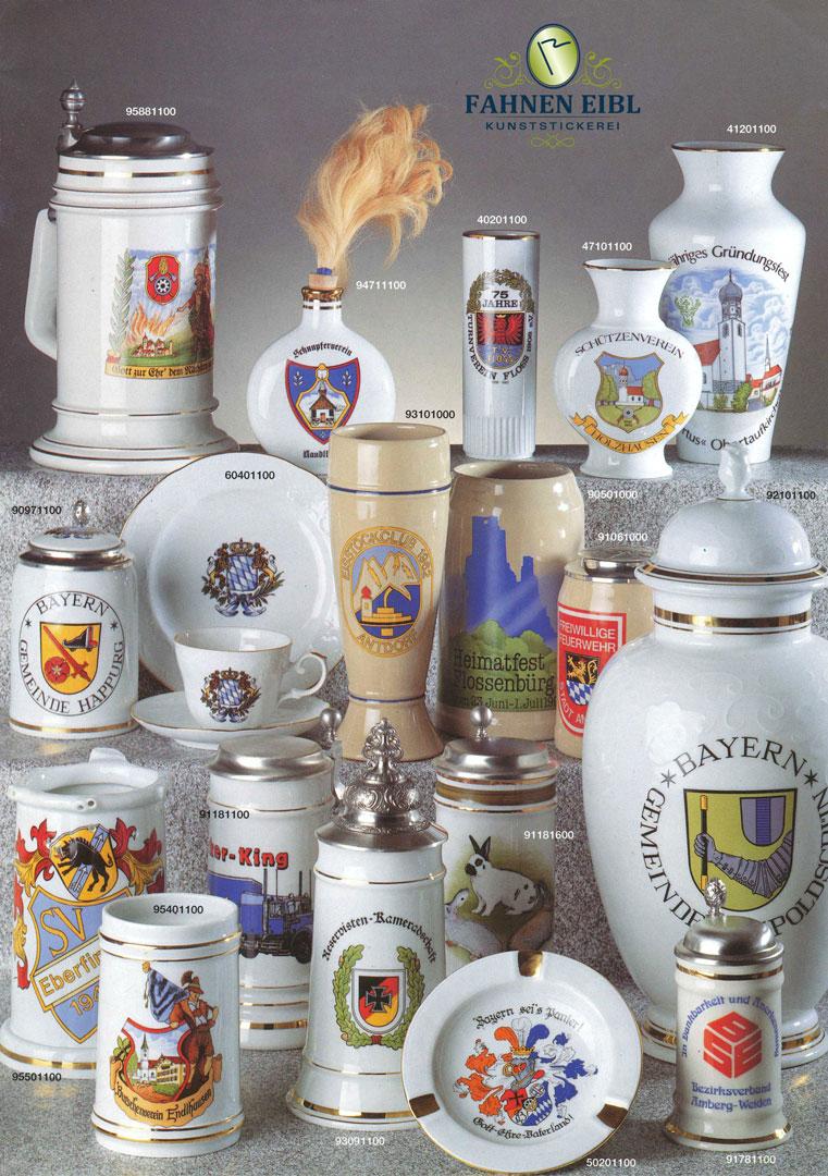 Ehrengabe Porzellan - Sonderprospekt
